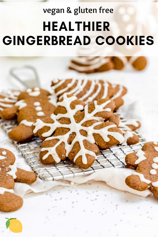 Chewy Vegan Gingerbread Cookies Gf Eat With Clarity Recipe Healthy Gingerbread Cookies Gluten Free Gingerbread Cookies Vegan Gingerbread Cookies