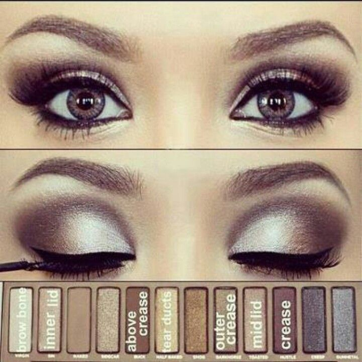 naked palette colors