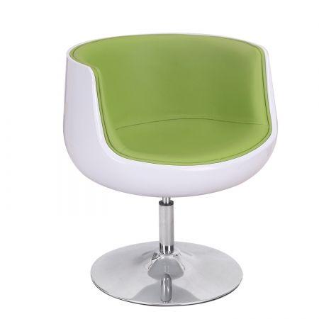 Joveco 360 Degree Swivel Egg Shaped Leisure Chair Green Joveco