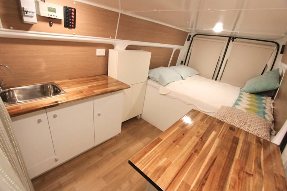 Top 59 RV Mods Guides Hacks Tips And Makeover Cargo Van Conversions