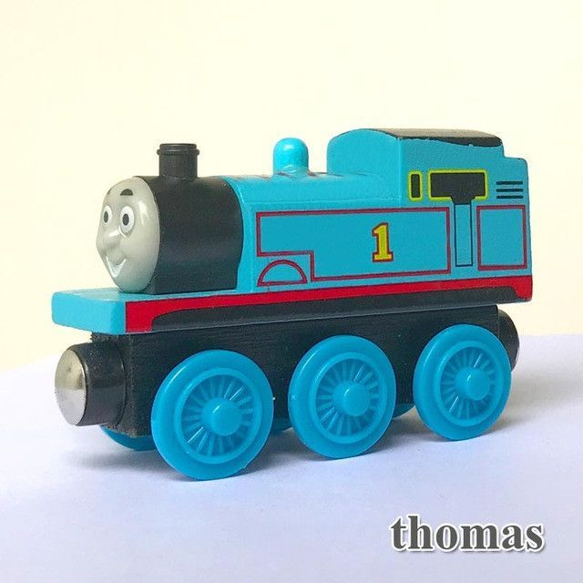Magnetic thomas and friends Wooden Model Train | Products | Pinterest