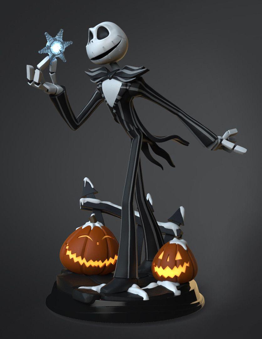 Jack Skellington Special Edition Disney Infinity Toy Sculpt By Matt Thorup Tim Burton S Nightmare Before Christmas Th Disney Infinity Jack Skellington Disney