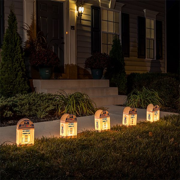 Star Wars R2-D2 Luminary Lighted Outdoor Décor Star Wars