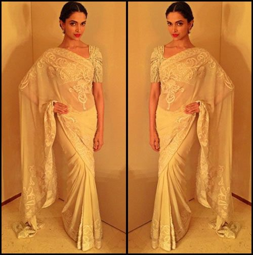 Wedding White Sarees Online: Bollywood Actresses In Sarees