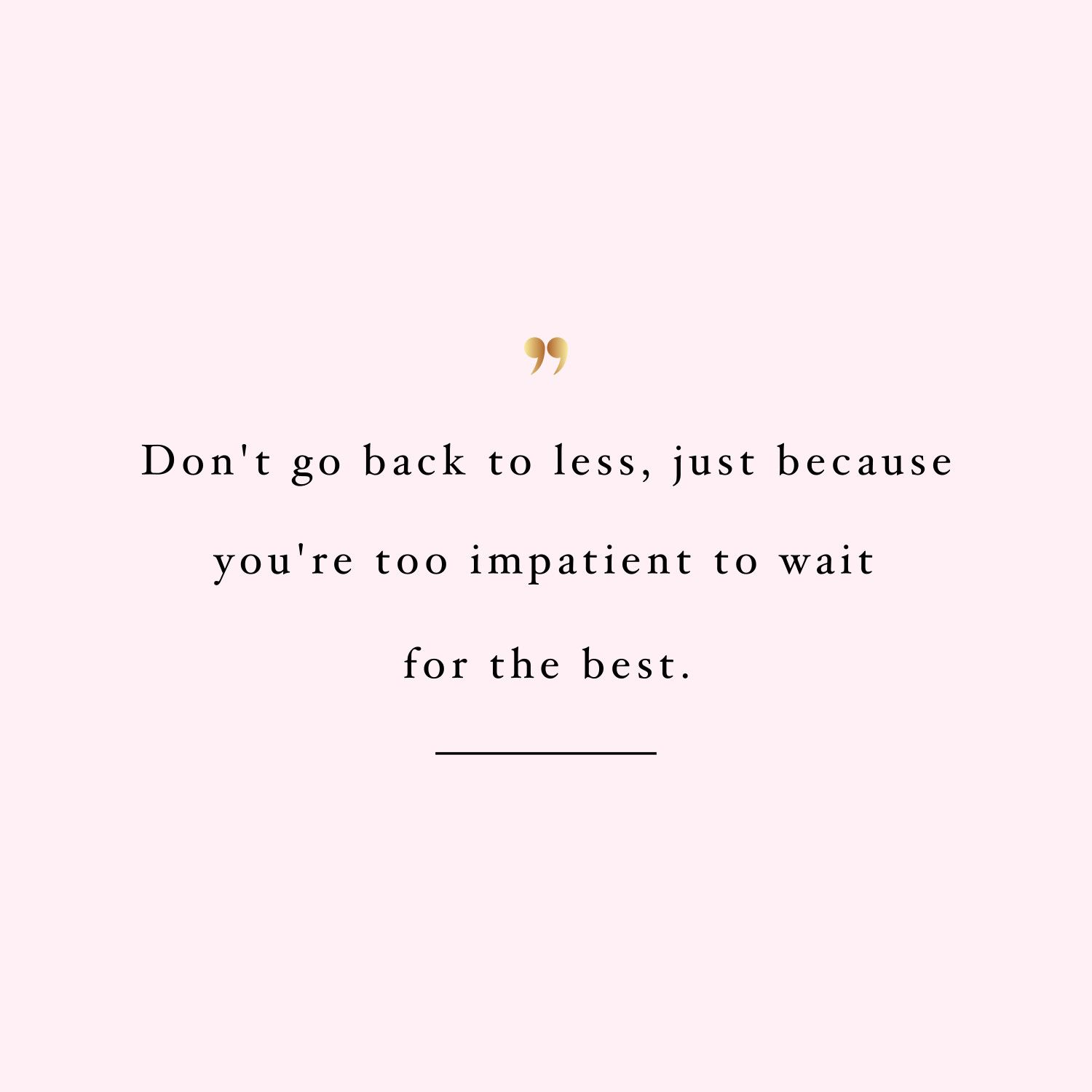 Be Patient   Training And Weight Loss Motivation