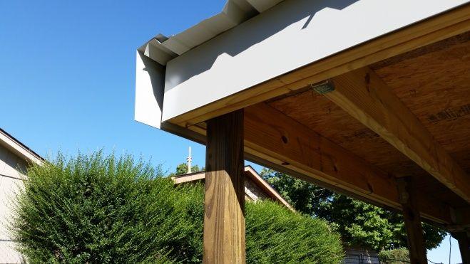 Metal Roof Installation Metal Roof Rake Edge Installation Roofing Siding Diy Home Metal Roof Metal Roof Installation Roof Edge