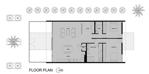 Vali homes infill prototype house phoenix by colabb for Prototype house plan