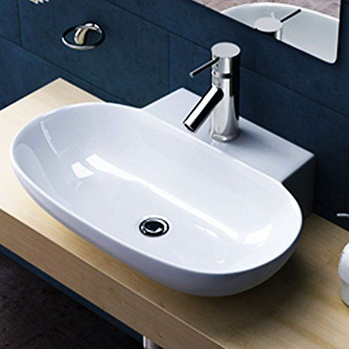 Durovin Oval Hand Wash Basin Sink Vessel One Tap Hole She Https