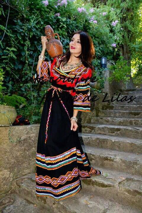 Berber Woman Algeria North Africa Native North Africans Costumes For Women Clothes For Women Traditional Dresses