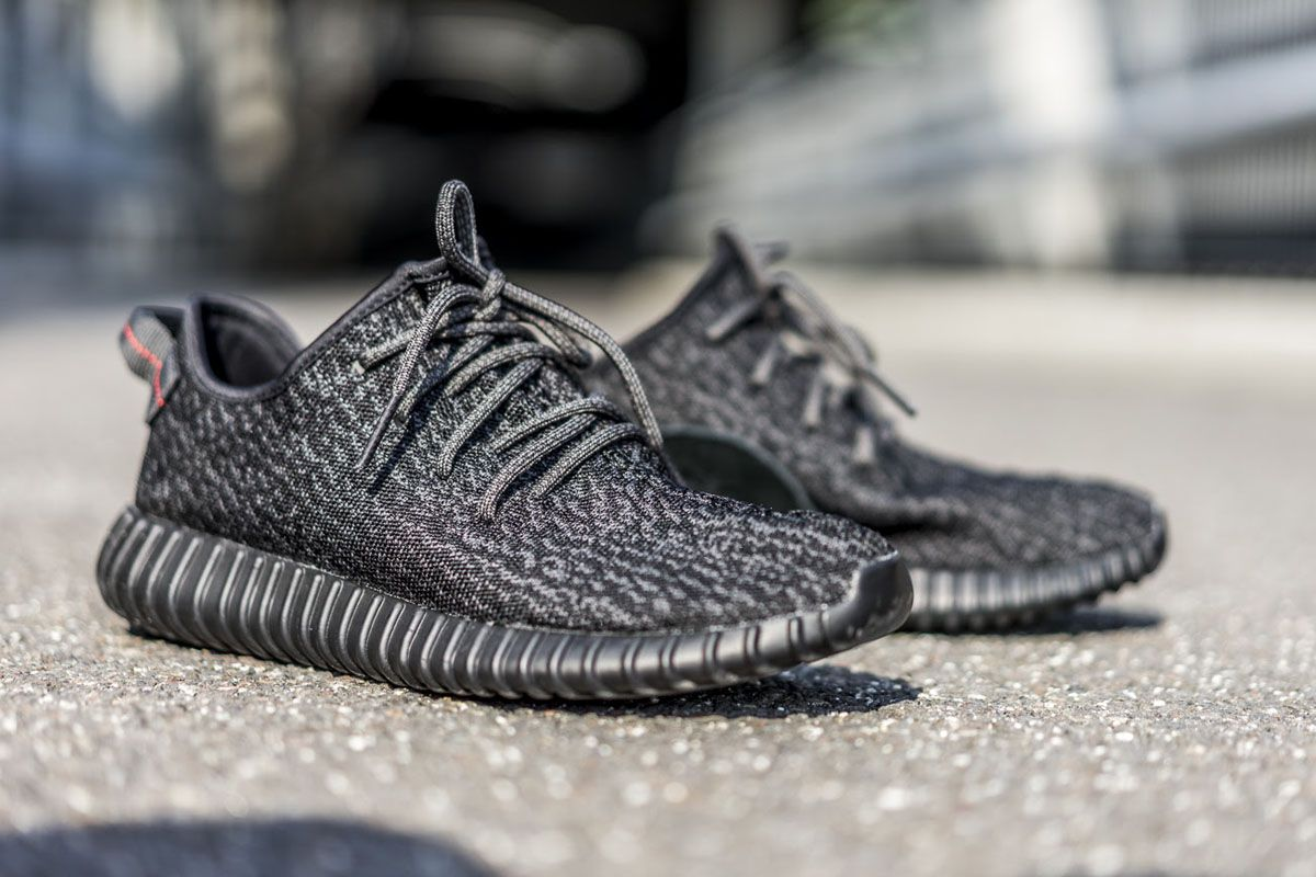 Adidas Yeezy Boost 350 Black White