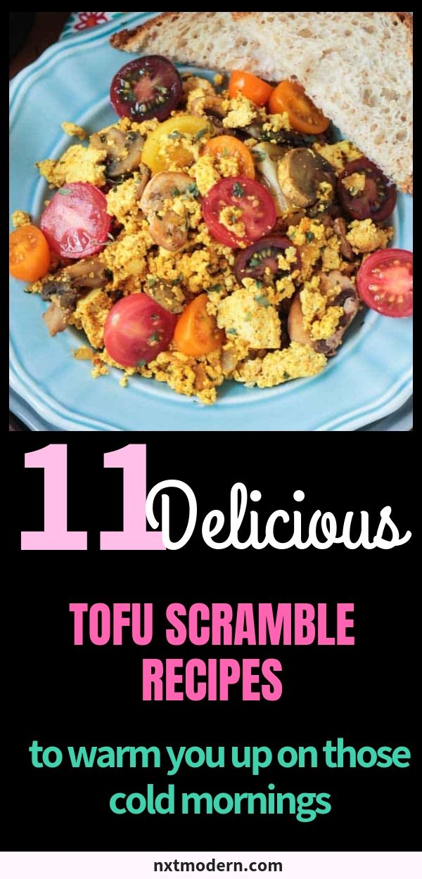11 Tasty Tofu Scramble Recipes To Replace Those Runny Eggs