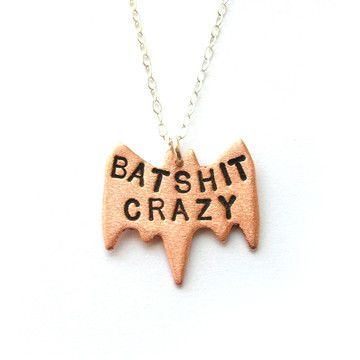 Fab.com | Metal Taboo: Batsh_t Crazy Necklace, at 13% off!