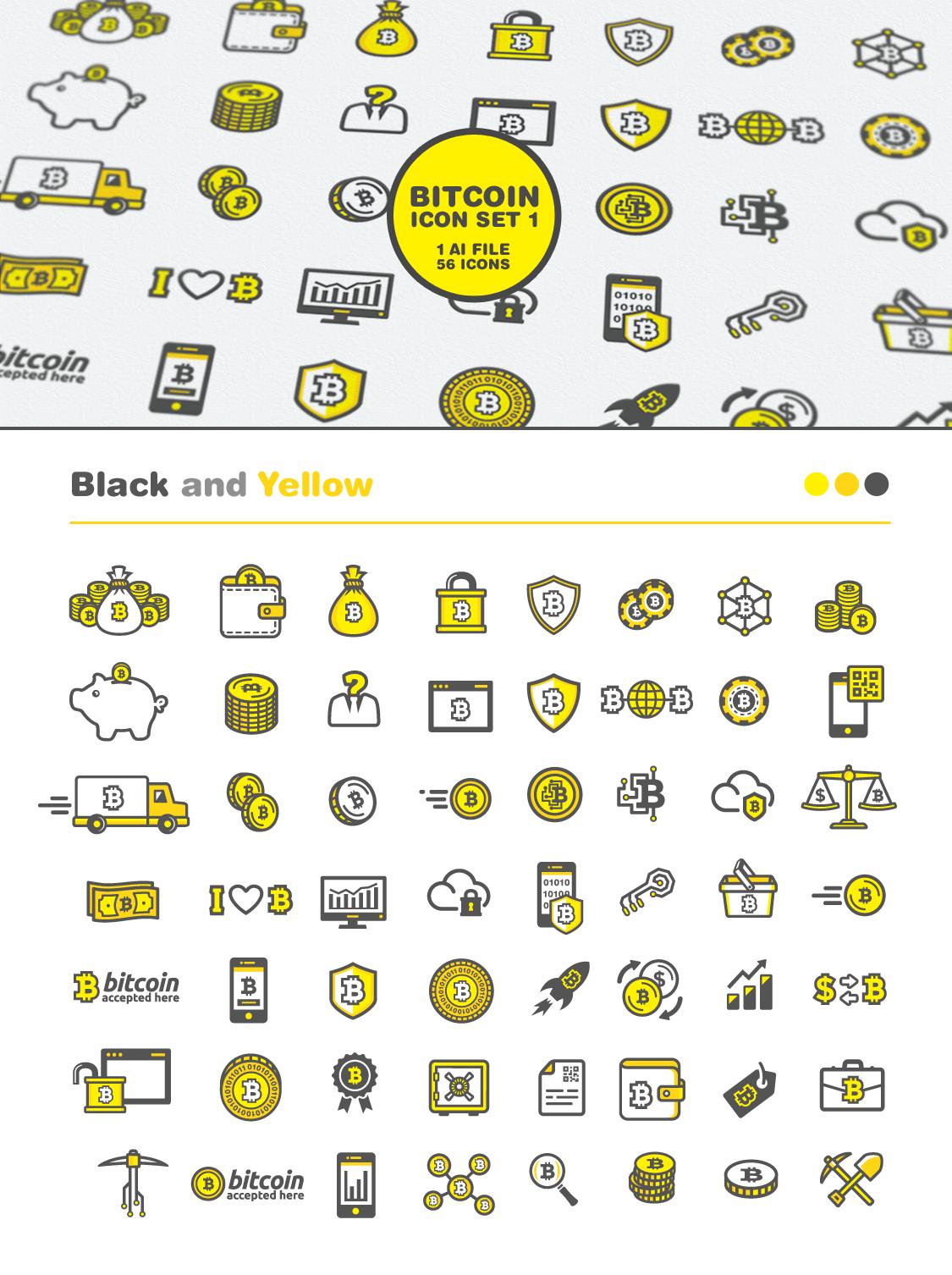 pictograma bitcoin