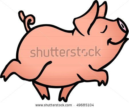 Google Image Result For Http Image Shutterstock Com Display Pic With Logo 483943 483943 1269730508 12 Stock Vector Cart Pig Illustration Pig Art Pig Painting