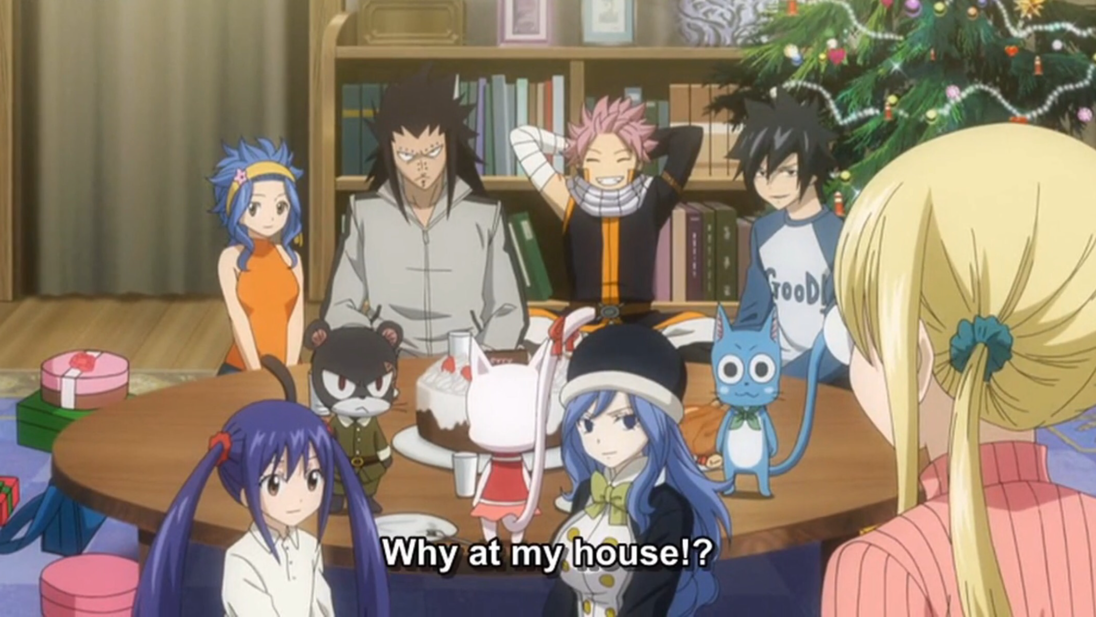 Fairy Tail OVA 09 - Fairies' Christmas | Anime Screencaps | Pinterest