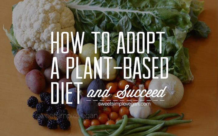 adopt a plant based diet