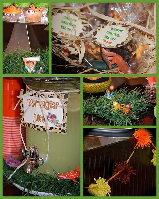 GreyGrey Designs: {Real Parties} Macy's Rainforest Diego Party