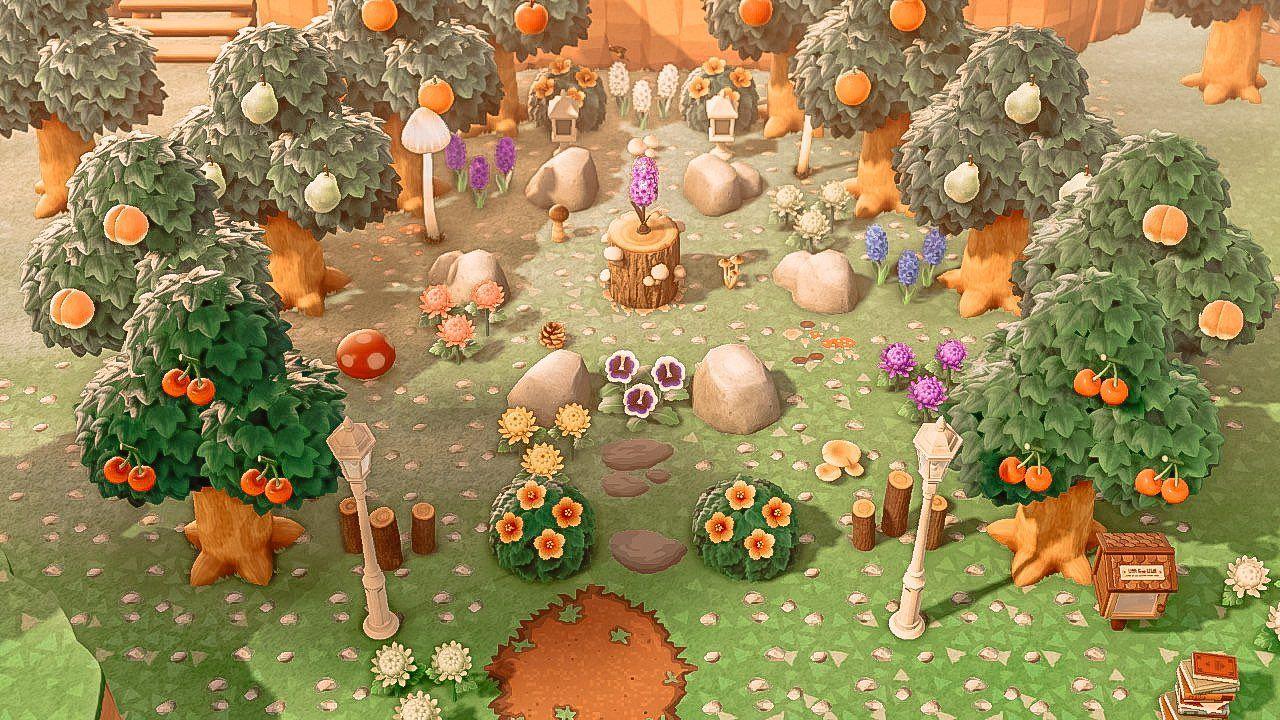 13++ Animal crossing rock garden ideas