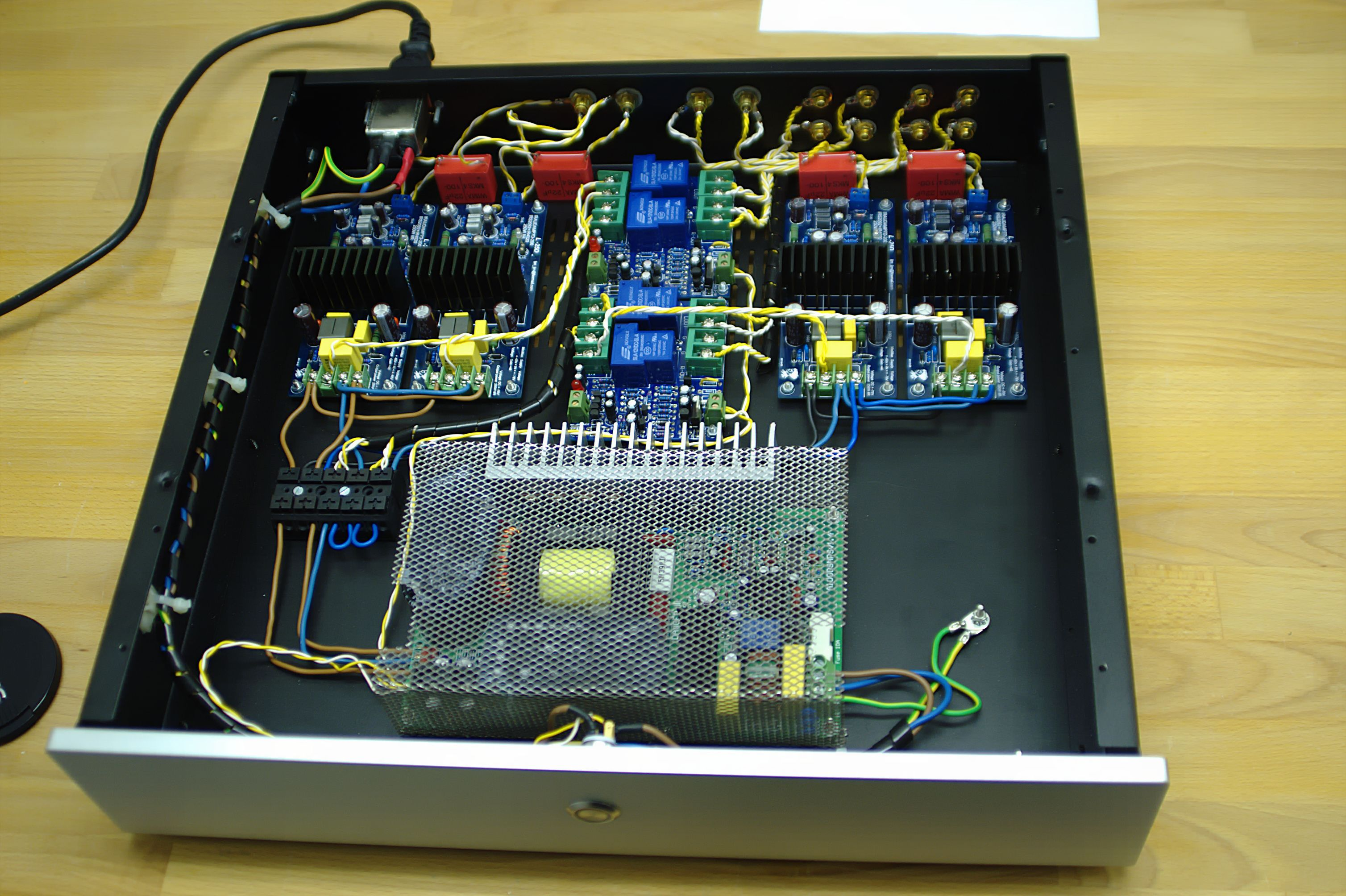 4 Kanal L25d Hifi Pinterest Amp Audio And Cool Stuff Pass Labs Aleph2 Diy Amplifier Kkpcb Layout Digital Listening To Music Speakers Boxing