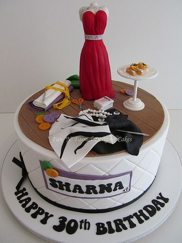 Fashion Designer Themed Birthday Cake Unique Cakes 4every Occasion