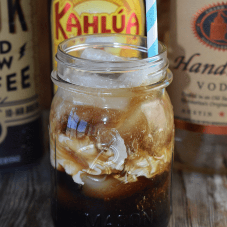 Dirty White Russian Cocktail - These Old Cookbooks