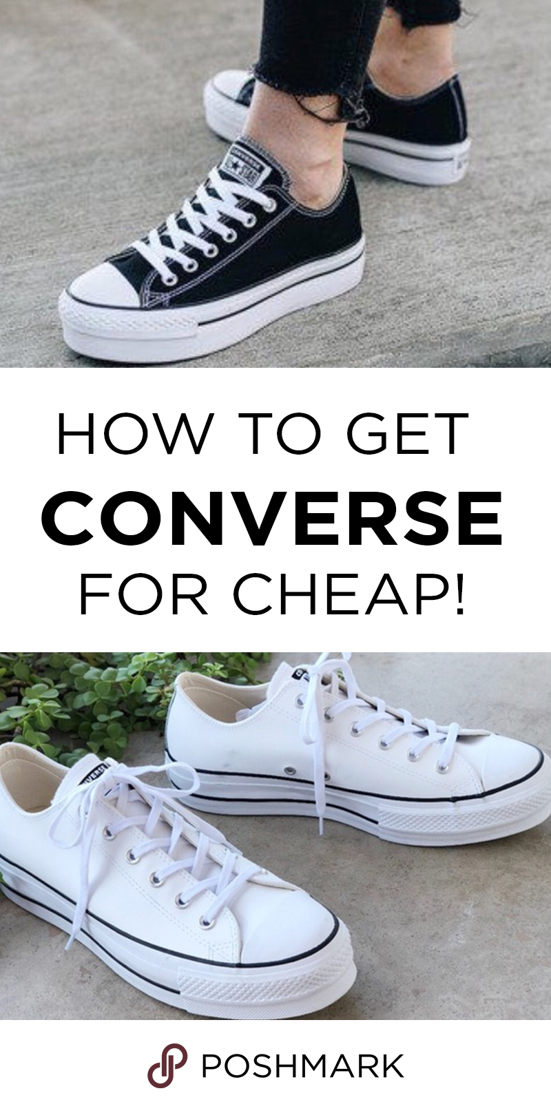 38c17cd80bf6 Find Converse sneakers up to 70% off when you shop on Poshmark. Download  the app today to shop and save!