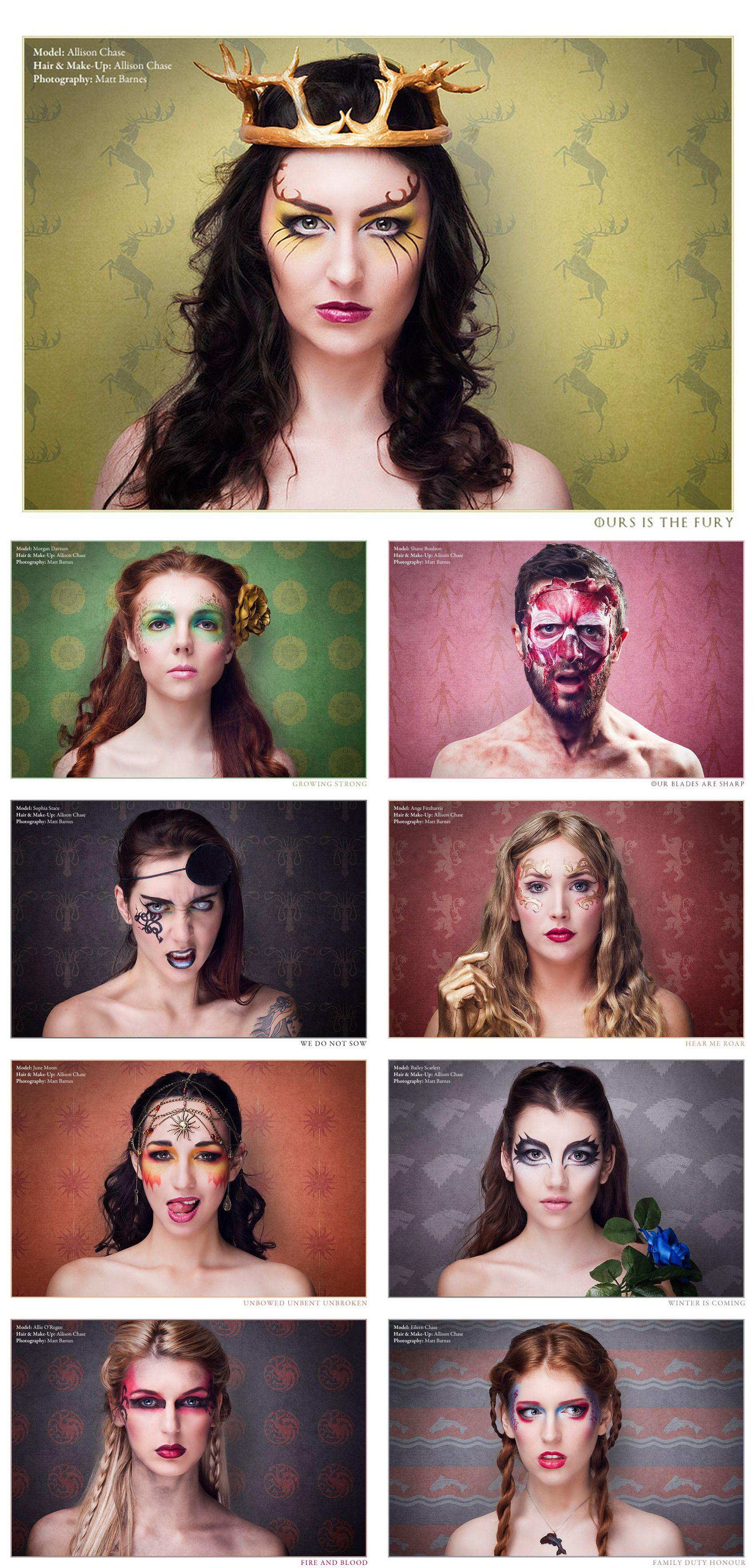 Game Of Thrones Makeup Is Fiercer Than A Dothraki Makeup Fantasy Makeup Gorgeous Makeup