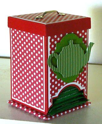 KB Papercraft: Tea Caddy Tutorial