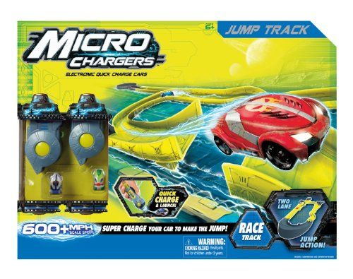 Micro Chargers Hyper Jump Race Track Set Micro Chargers Amazon 32 Walmart 25 Not At Toysrus Or Target Reviews Said Fun But Diffi Race Track Chargers Racing