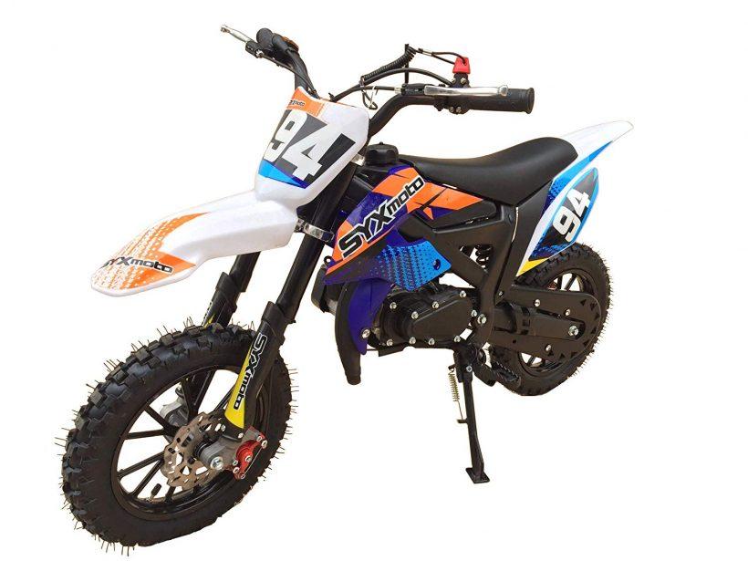 Kids Mini Dirt Bike Syx Moto Holeshot 50cc Dirt Bikes For Kids