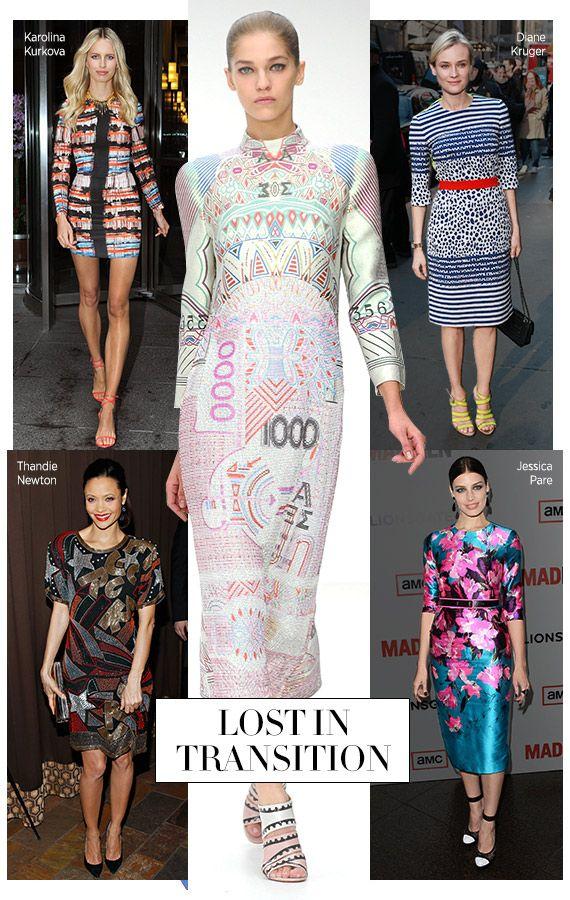 Bazaar Boards Lost In Transition Fashion Fashion Looks High Fashion