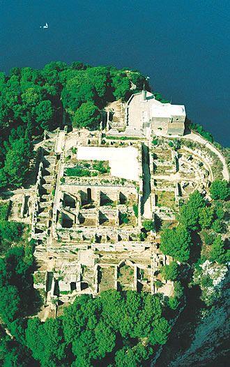 Villa Jovis (Emperor Tiberius' Palace), Capri, Bay of