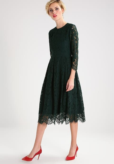 Beautiful Vintage Style green Lace Dress from Ivy& Oak for Wedding ...