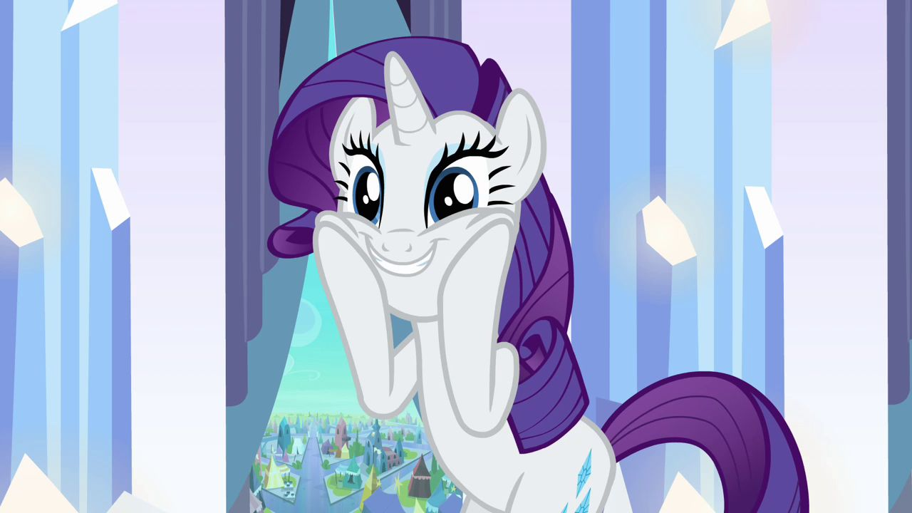 Rarity Mlp I Am A Lady And I Wish To Be Addressed As Such