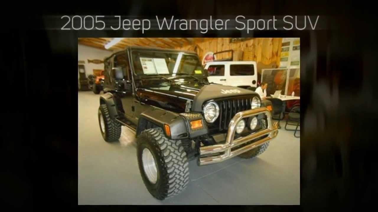 2005 Jeep Wrangler Sport Suv Jeep Wrangler Rubicon 2004 Jeep