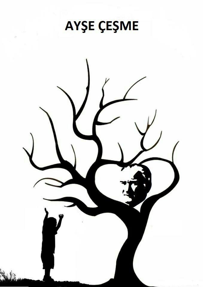 Ataturk Cal Boyama Sayfalari Sanat Sanat Teknikleri