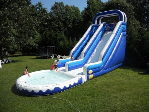 Factory direct inflatable slide inflatable castle water park etc