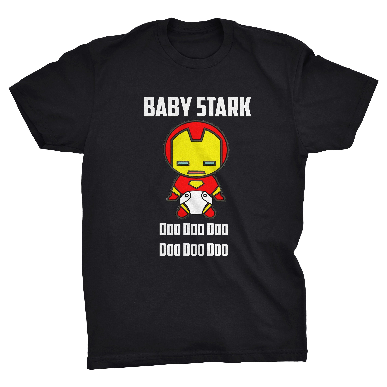 ebd8fe6c Baby Stark Doo Doo Doo Baby Shark Iron Man Parody T-shirt by  ViperClothingCo on Etsy