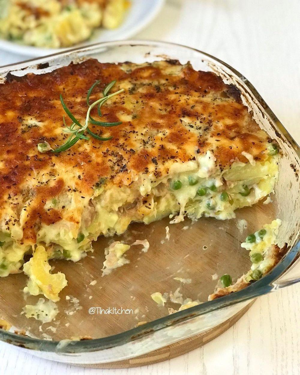 Resep Mashed Potato Instagram Kentang Tumbuk Makanan Kentang