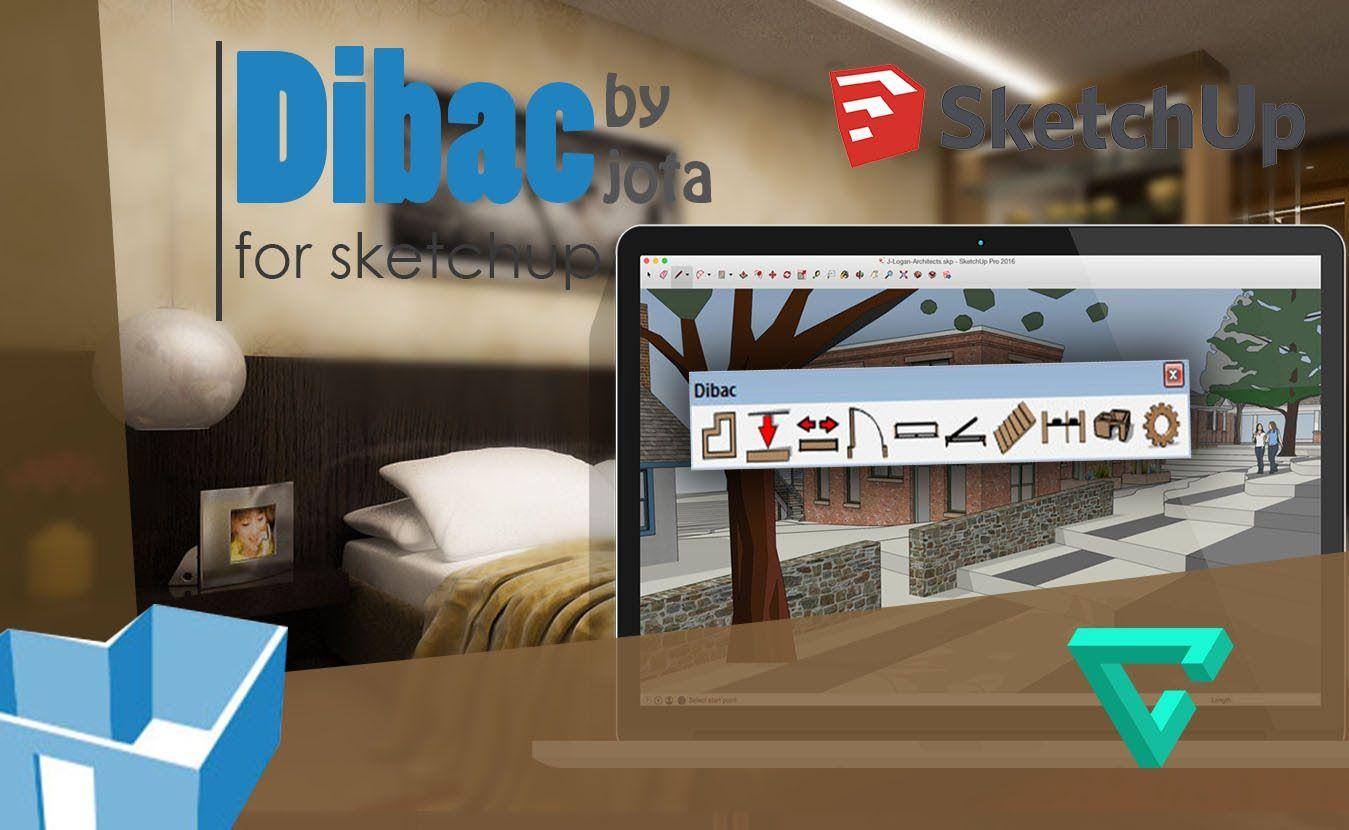 Como descargar e instalar DIBAC para SKETCHUP 2016 full en
