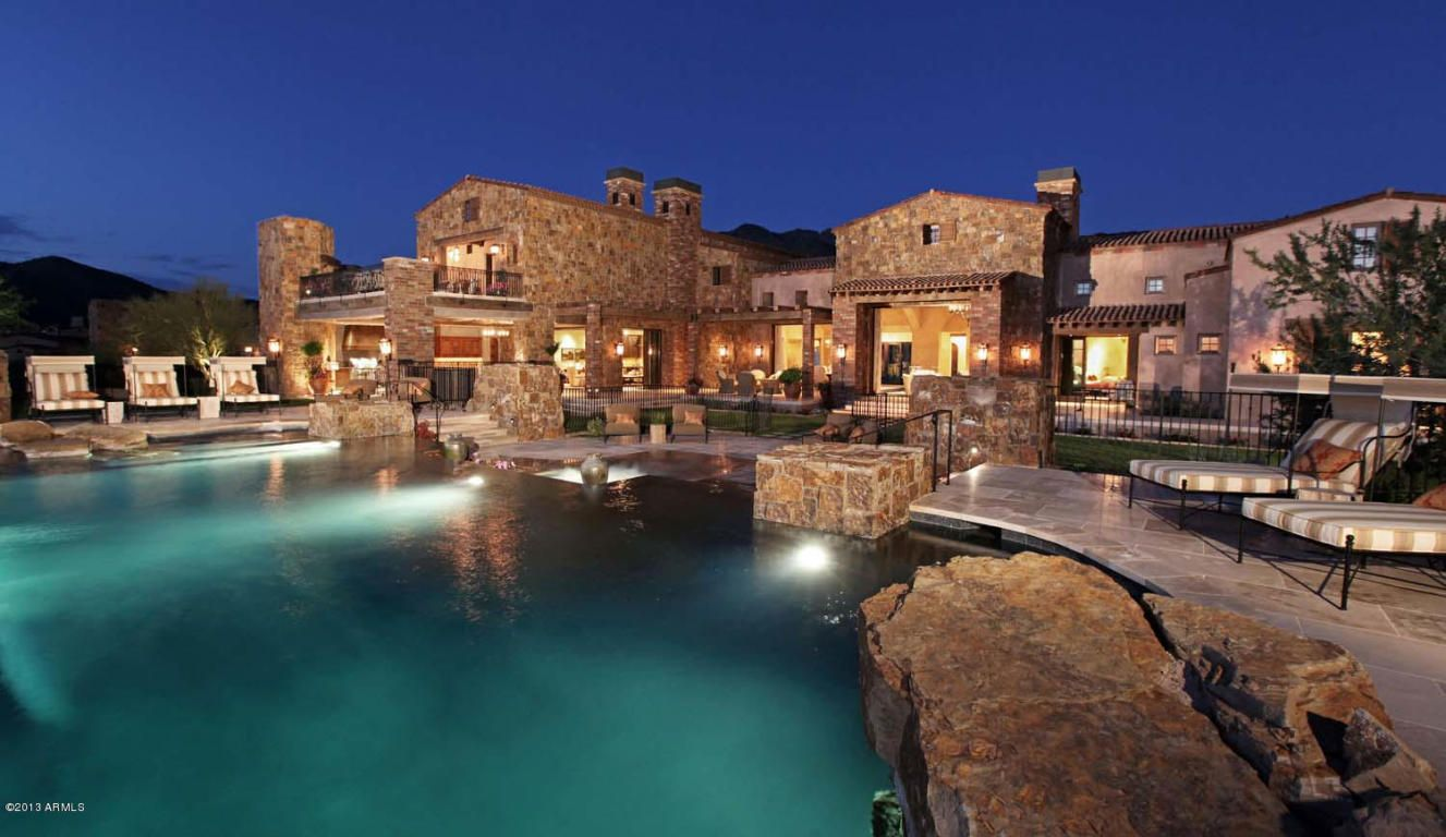 Million Dollar Home In Scottsdale Arizona Is 24 500 000 Scottsdale Arizona House And Ranch Style