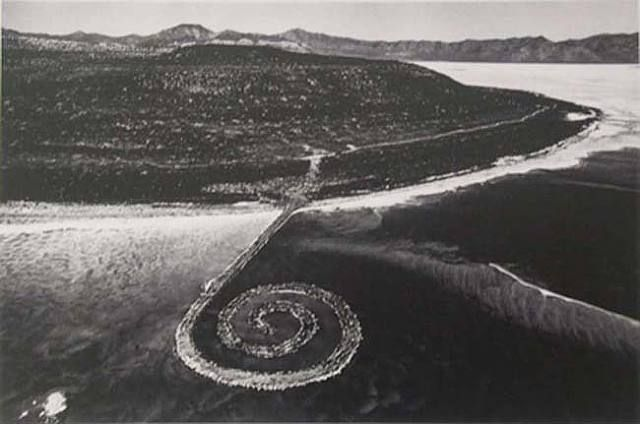 A Pastel Portrait of Spiral Jetty and Its Environs
