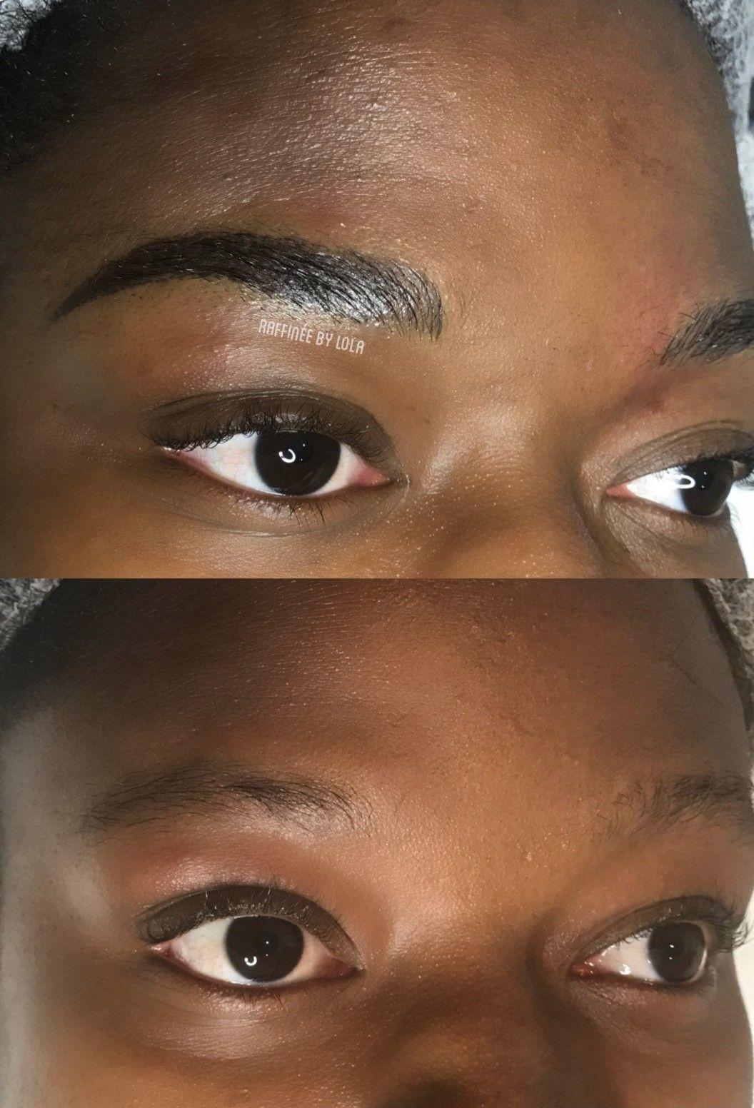Microblading Hertfordshire Permanent eyebrows, Semi