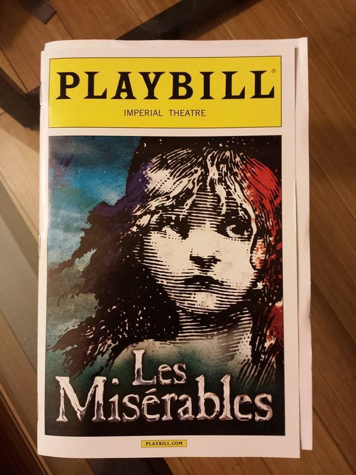 Les Miz Back On Broadway Broadway Playbills Musicals Broadway Posters