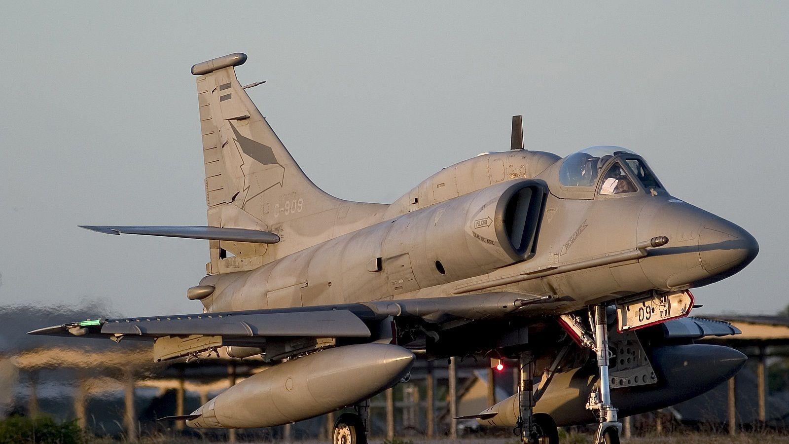 A4 Skyhawk. Advanced avionics(?)