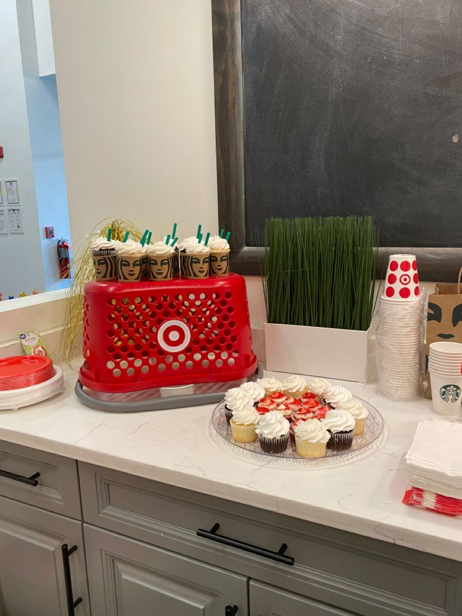 """Going 2 Target"" Target themed birthday party for 2 year"