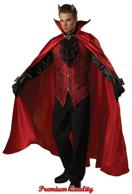 Handsome Devil Costume - Mens Costumes Halloween Costumes