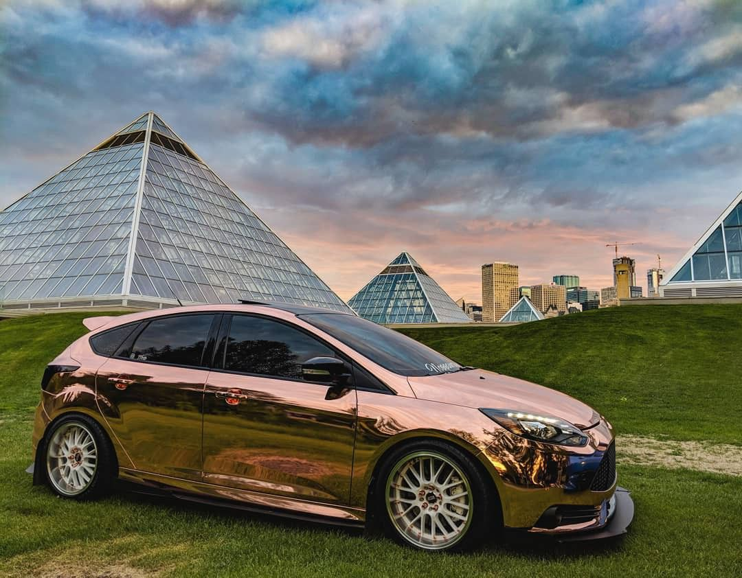 Rose Gold Pre Face Lift Focus St Ford Focus Ford Focus Car