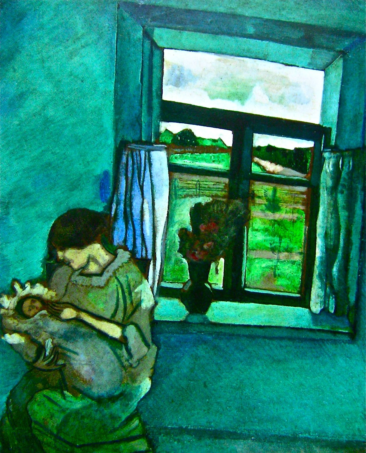 marc chagall bella and ida | All is far from lost ... Chagall and Bella had their baby, Ida, in ...