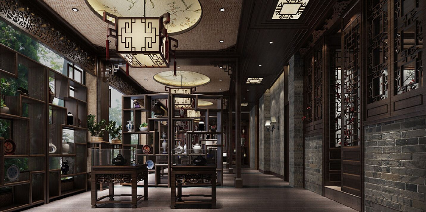 Traditional Chinese House Interior